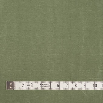 コットン&ナイロン×無地(アイビーグリーン)×リップストップ_全2色_イタリア製 サムネイル4