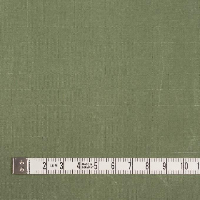 コットン&ナイロン×無地(アイビーグリーン)×リップストップ_全2色_イタリア製 イメージ4