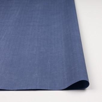 コットン&ナイロン×無地(ヒヤシンスブルー)×リップストップ_全2色_イタリア製 サムネイル3