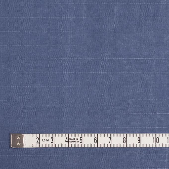 コットン&ナイロン×無地(ヒヤシンスブルー)×リップストップ_全2色_イタリア製 イメージ4