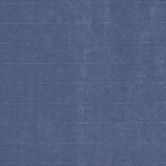 コットン&ナイロン×無地(ヒヤシンスブルー)×リップストップ_全2色_イタリア製