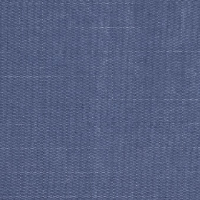 コットン&ナイロン×無地(ヒヤシンスブルー)×リップストップ_全2色_イタリア製 イメージ1