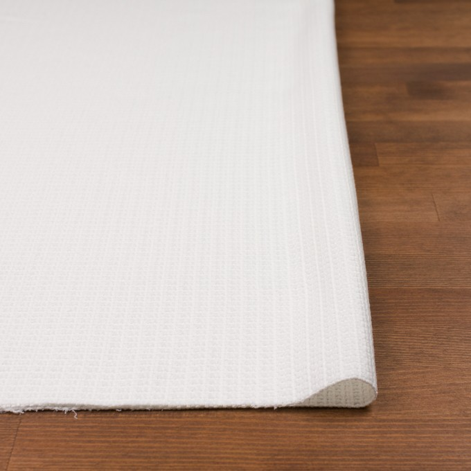 コットン&ナイロン×無地(オフホワイト)×斜子織_全2色_イタリア製 イメージ3