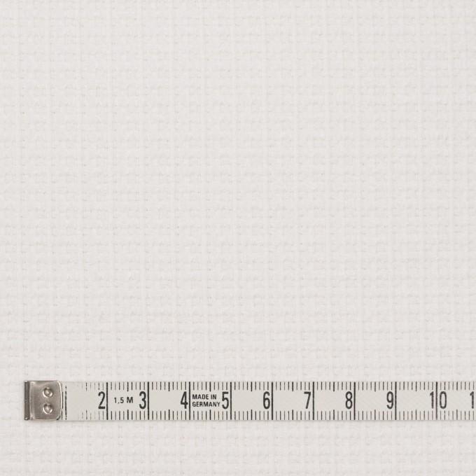 コットン&ナイロン×無地(オフホワイト)×斜子織_全2色_イタリア製 イメージ4