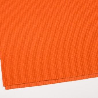 コットン&ナイロン×無地(オレンジ)×斜子織_全2色_イタリア製 サムネイル2