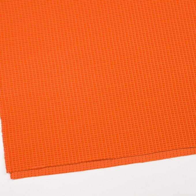 コットン&ナイロン×無地(オレンジ)×斜子織_全2色_イタリア製 イメージ2