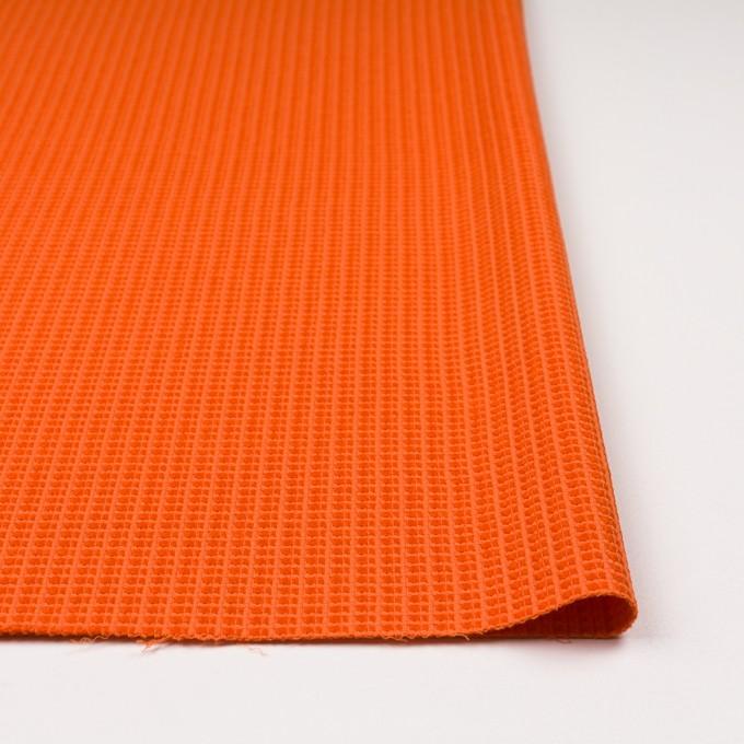 コットン&ナイロン×無地(オレンジ)×斜子織_全2色_イタリア製 イメージ3