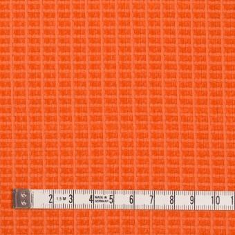 コットン&ナイロン×無地(オレンジ)×斜子織_全2色_イタリア製 サムネイル4