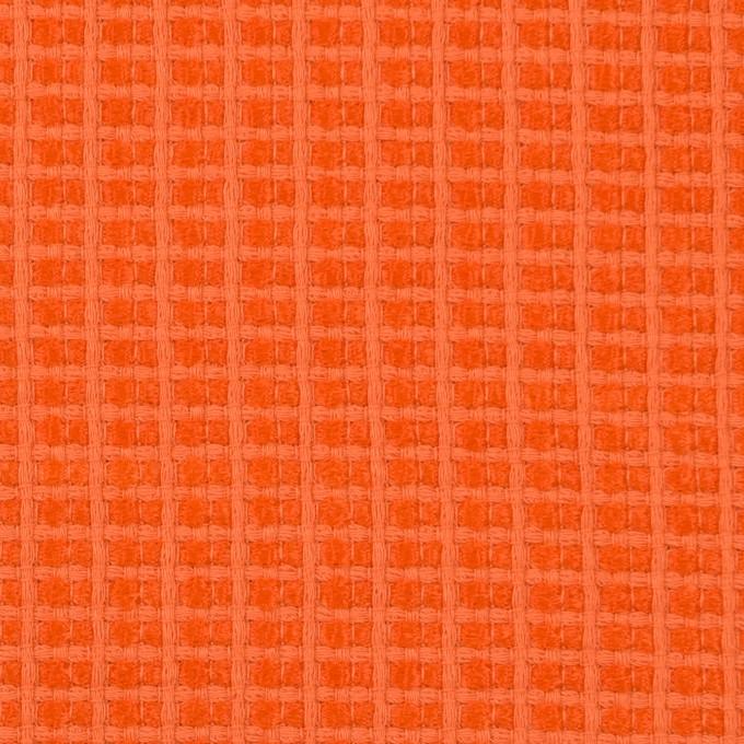 コットン&ナイロン×無地(オレンジ)×斜子織_全2色_イタリア製 イメージ1
