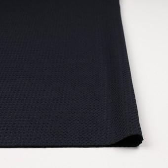コットン&ナイロン×無地(ダークネイビー)×斜子織_イタリア製 サムネイル3