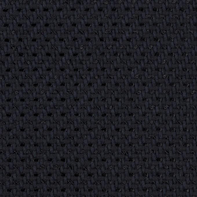 コットン&ナイロン×無地(ダークネイビー)×斜子織_イタリア製 イメージ1