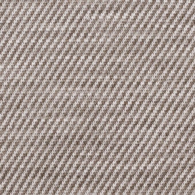 リネン×ミックス(カーキブラウン)×天竺ニット_全3色 イメージ1
