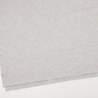 コットン&テンセル混×無地(シルバーグレー)×スムースニット サムネイル2
