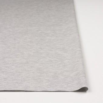 コットン&テンセル混×無地(シルバーグレー)×スムースニット サムネイル3
