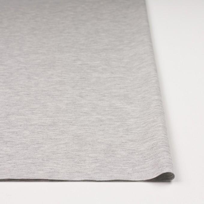 コットン&テンセル混×無地(シルバーグレー)×スムースニット イメージ3