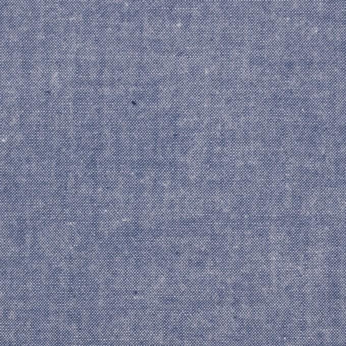 コットン×無地(アッシュブルー)×ダンガリー イメージ1