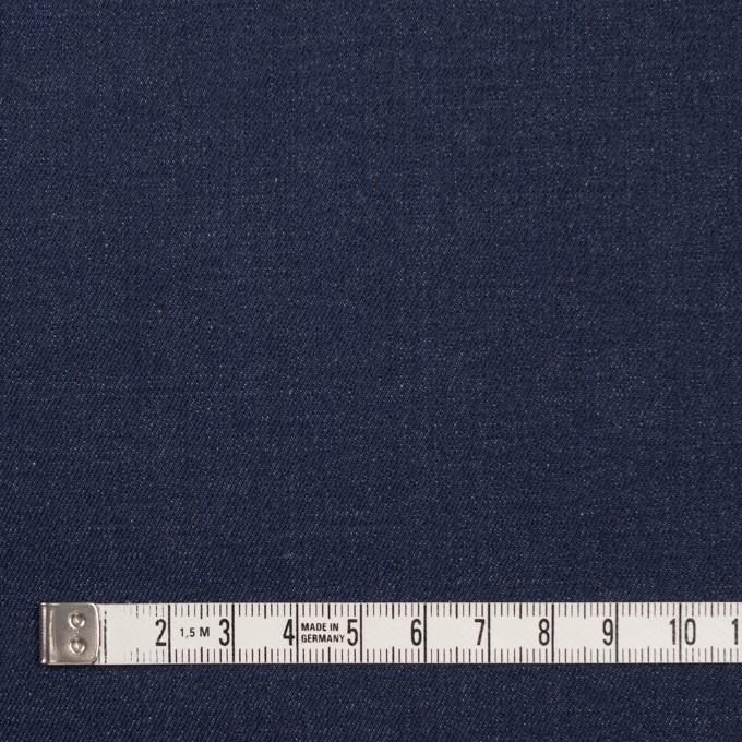 コットン&ポリウレタン×無地(インディゴ)×デニムストレッチ(9oz) イメージ4