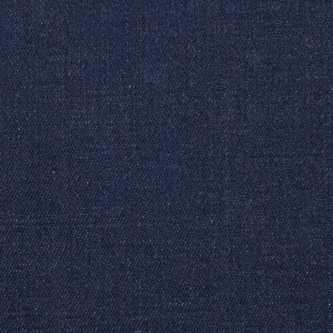 コットン&ポリウレタン×無地(インディゴ)×デニムストレッチ(9oz) イメージ1