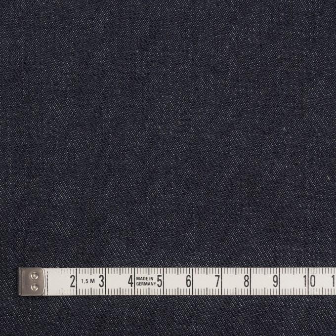 コットン×無地(インディゴ)×デニムストレッチ(13.5oz) イメージ4