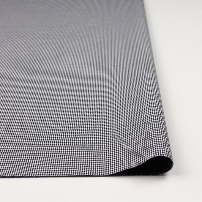 コットン&ポリエステル×チェック(ブラック&ホワイト)×千鳥格子&ローン(ボンディング) イメージ3