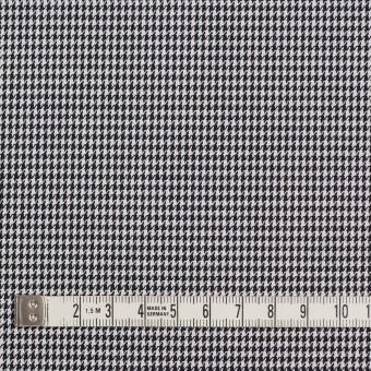 コットン&ポリエステル×チェック(ブラック&ホワイト)×千鳥格子&ローン(ボンディング) サムネイル4