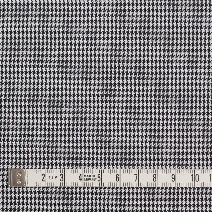 コットン&ポリエステル×チェック(ブラック&ホワイト)×千鳥格子&ローン(ボンディング) イメージ4