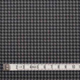 コットン&ポリエステル×チェック(ブラック&ホワイト)×千鳥格子&ローン(ボンディング) サムネイル5