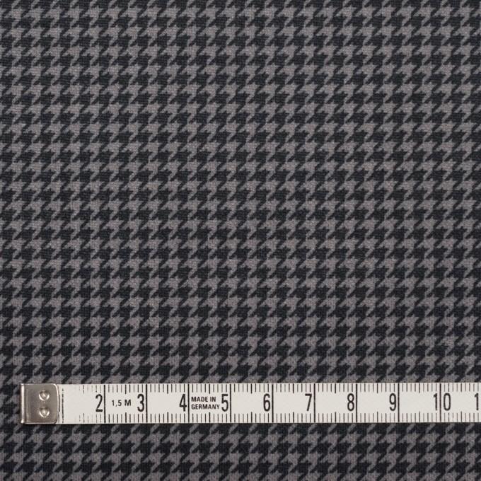 コットン&ポリエステル×チェック(ブラック&ホワイト)×千鳥格子&ローン(ボンディング) イメージ5