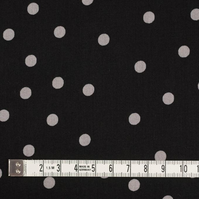 コットン×水玉(ブラック&ダブグレー)×ローン_全2色 イメージ4