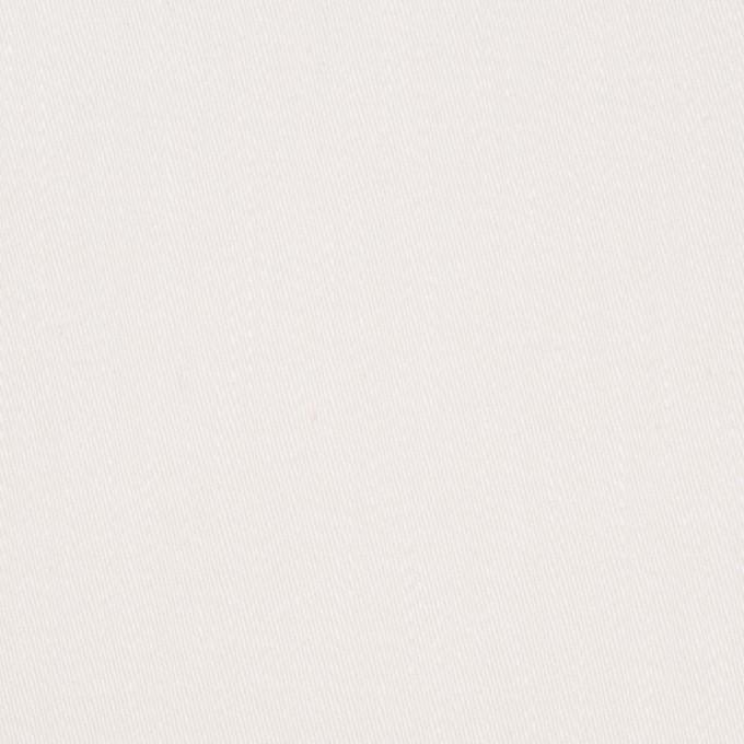 コットン&ポリウレタン×無地(オフホワイト)×チノクロス・ストレッチ イメージ1