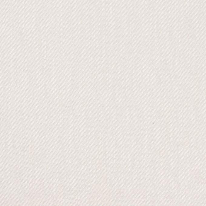 リネン×無地(オフホワイト)×カツラギ イメージ1