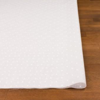 コットン×ドット(ホワイト)×ボイルカットジャガード_全6色 サムネイル3