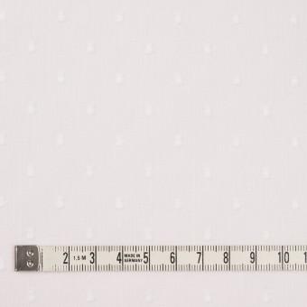 コットン×ドット(ホワイト)×ボイルカットジャガード_全6色 サムネイル4