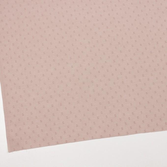 コットン×ドット(スモークピンク)×ボイルカットジャガード_全6色 イメージ2