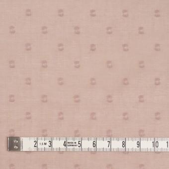コットン×ドット(スモークピンク)×ボイルカットジャガード_全6色 サムネイル4