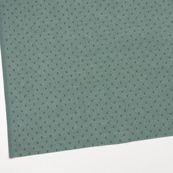 コットン×ドット(セージグリーン)×ボイルカットジャガード_全6色 サムネイル2
