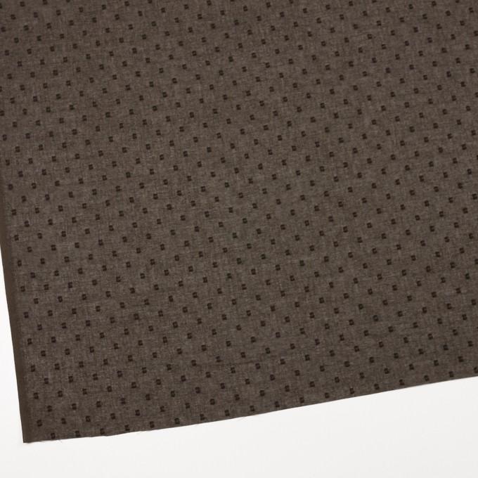 コットン×ドット(カーキブラウン)×ボイルカットジャガード_全6色 イメージ2