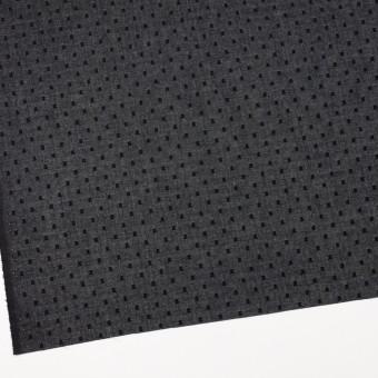 コットン×ドット(ブラック)×ボイルカットジャガード_全6色 サムネイル2