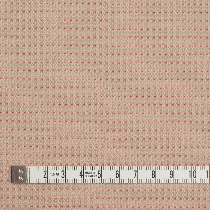 コットン×ドット(オークス&オレンジ)×ドビーワッシャー イメージ4