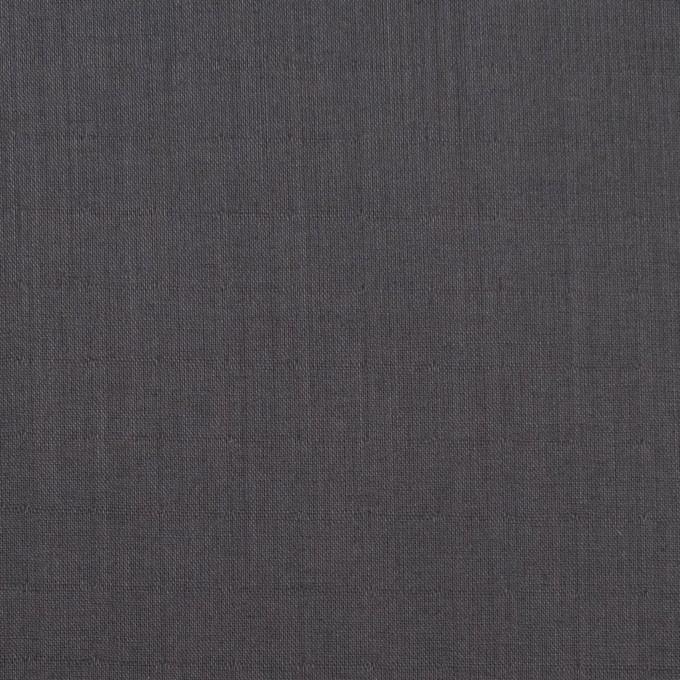 コットン×無地(チャコール)×Wローン_全4色 イメージ1