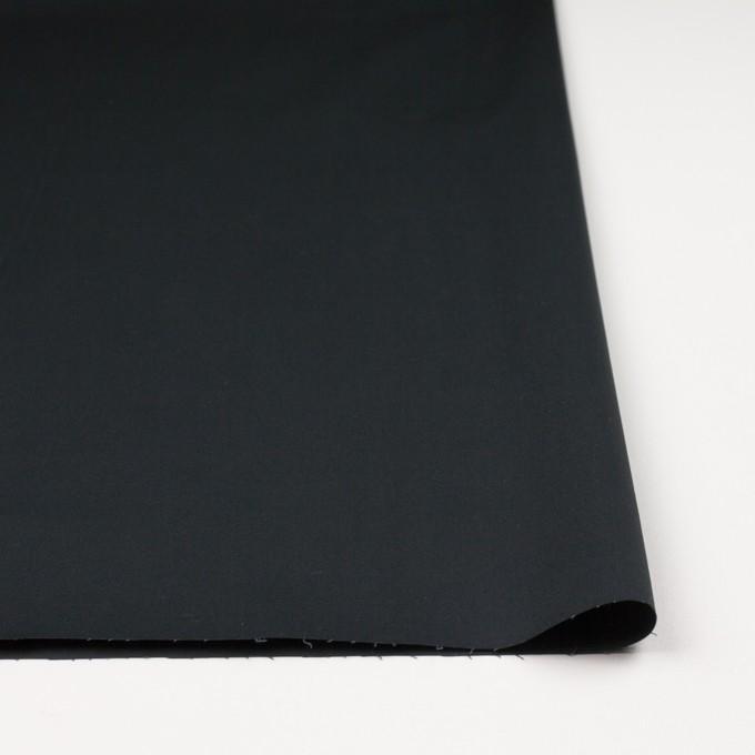 コットン&ポリウレタン×無地(チャコールブラック)×ギャバジンストレッチ イメージ3