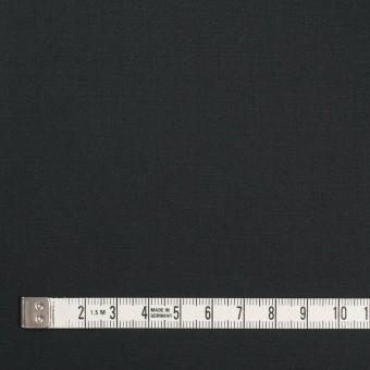 コットン&ポリウレタン×無地(チャコールブラック)×ギャバジンストレッチ サムネイル4