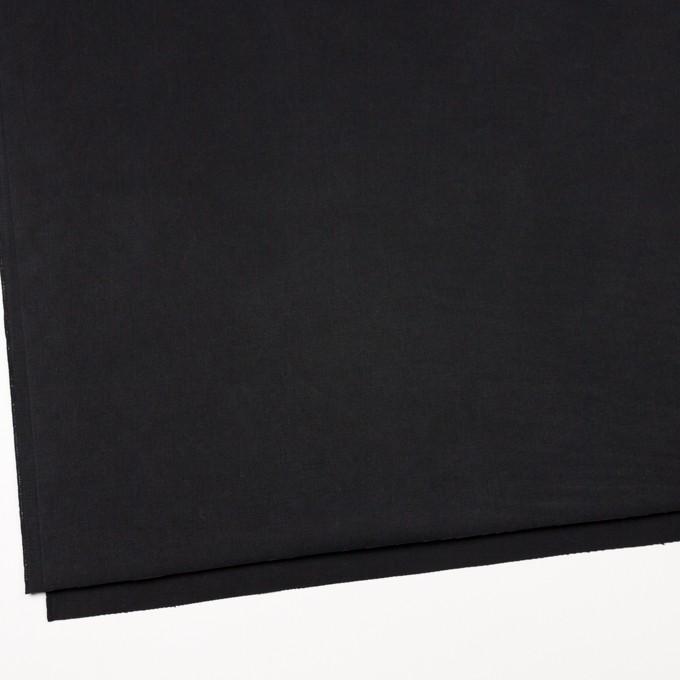 コットン×無地(ブラック)×チノクロスワッシャー イメージ2