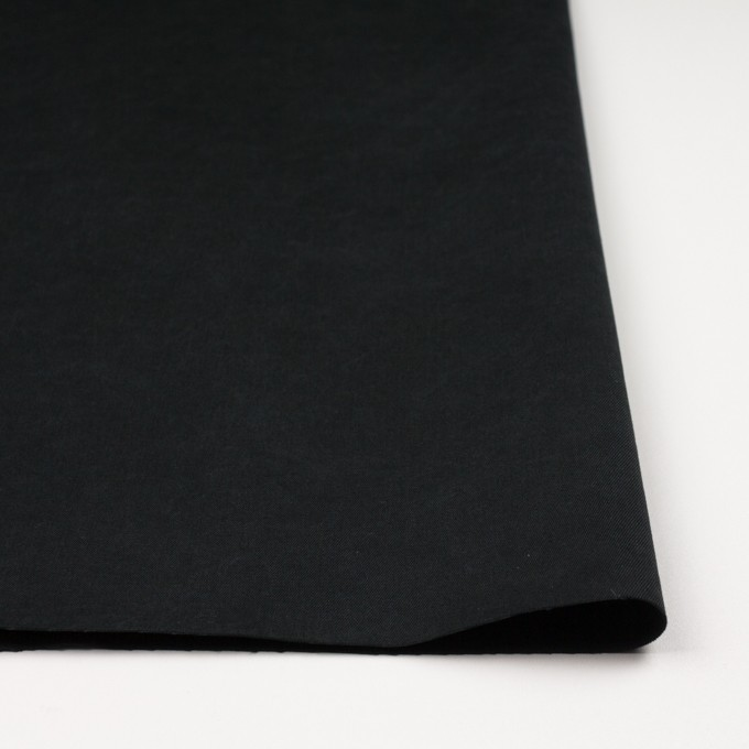 コットン×無地(ブラック)×チノクロスワッシャー イメージ3