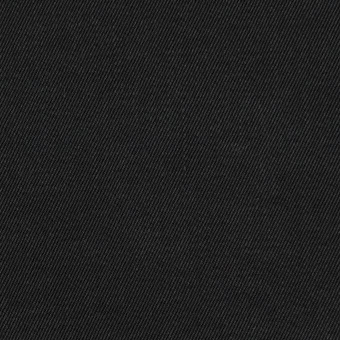 コットン×無地(ブラック)×チノクロスワッシャー イメージ1
