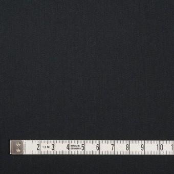レーヨン&ポリエステル×無地(ブラック)×サテン_イタリア製 サムネイル4
