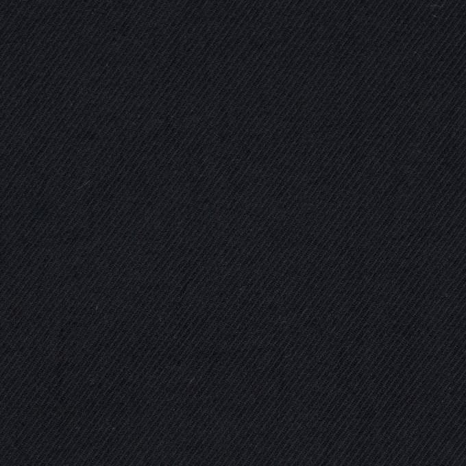 ナイロン&ポリウレタン×無地(ブラック)×サージストレッチ イメージ1
