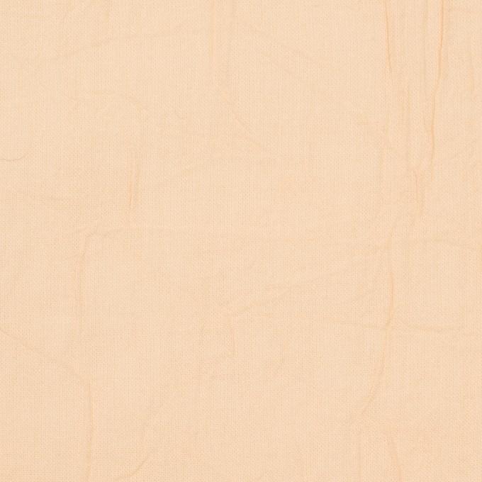 コットン×無地(ネープルスイエロー)×ボイルワッシャー_全8色 イメージ1