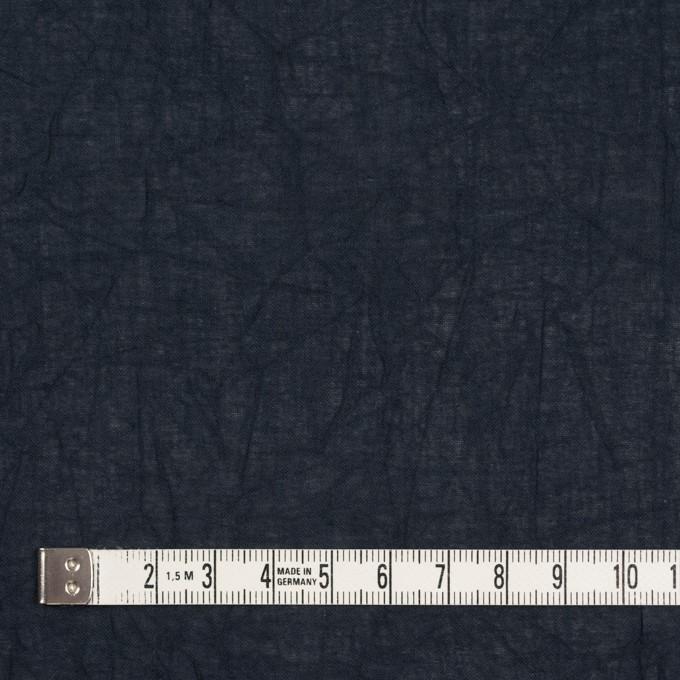 コットン×無地(ダークネイビー)×ボイルワッシャー_全8色 イメージ4