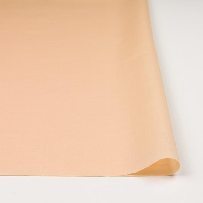 コットン&リネン×無地(ネープルスイエローレッド)×ローン_全4色 イメージ3